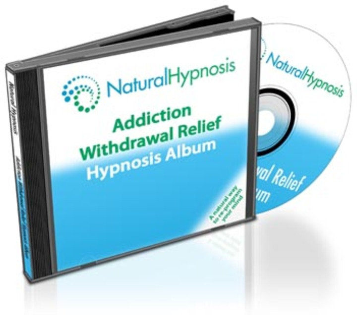 Addiction Withdrawal Relief CD Album Cover
