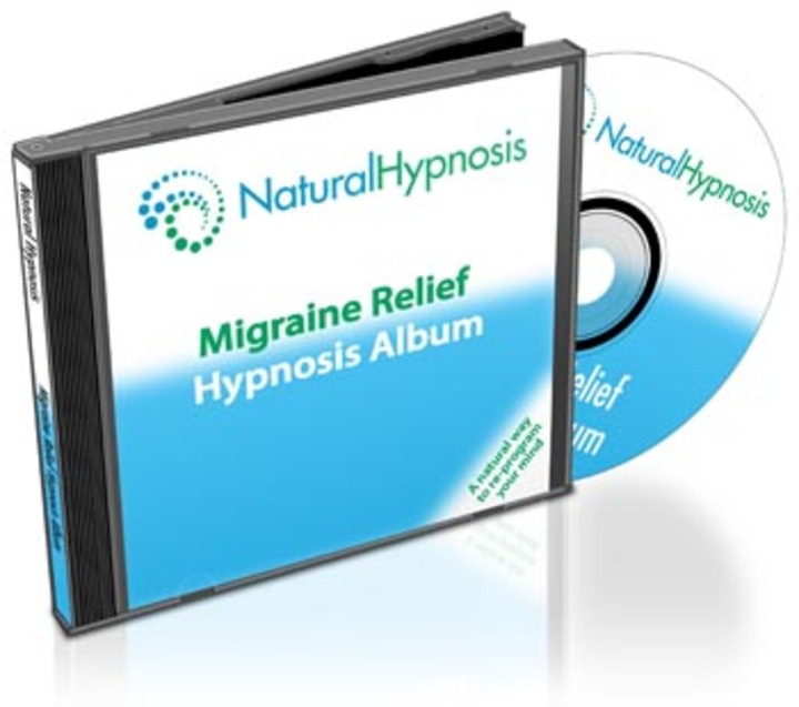 Migraine Relief CD Album Cover