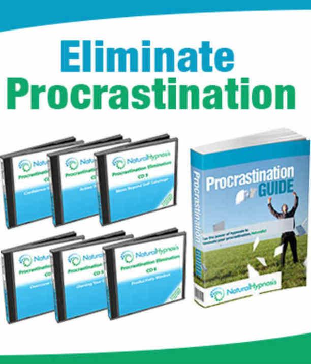 how to stop procrastination hypnosis