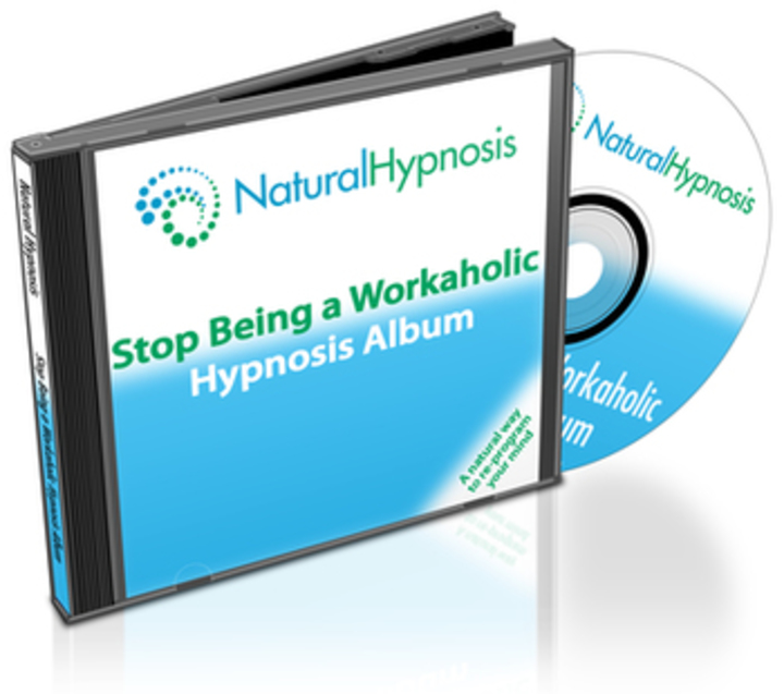 Stop Being a Workaholic CD Album Cover