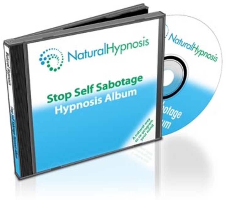Stop Self Sabotage CD Album Cover